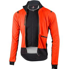 Castelli Alpha Ros Jakke Herrer, orange/black